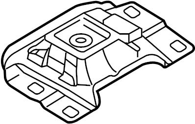 Mazda 3 Mount. Transmission. Rubber. LITER, Auto, SKYACTIV