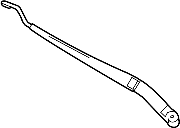 Mazda 3 Windshield Wiper Arm (Front). Wiper. Arm