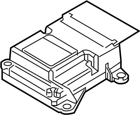 Mazda 3 Air Bag Control Module. Module. Air Bag Control