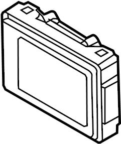 Mazda 3 Radio Control Unit. 6 speaker sys, Mexico built