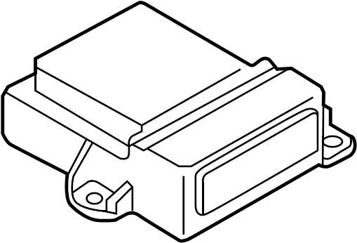 Mazda 3 Air Bag Control Module. SENSORS, ModuleS, Unit