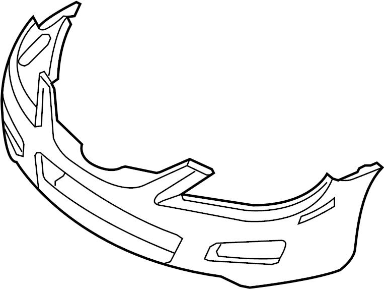Mazda 6 Bumper Cover (Front, Upper). COMPONENTS, Body
