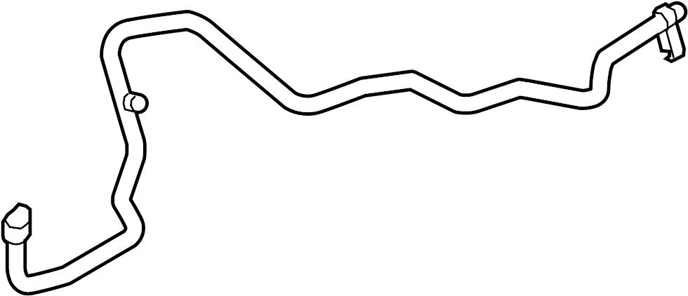 Mazda 6 A/c refrigerant hose. Liter, line, air