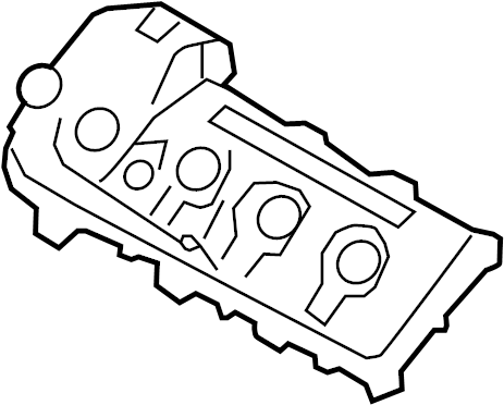 Mazda CX-9 Valve. Seal. Cover. Engine. 3.7 LITER. Left