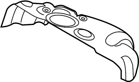 Mazda CX-9 Heat. Shield. Manifold. 3.7 LITER Rear. For