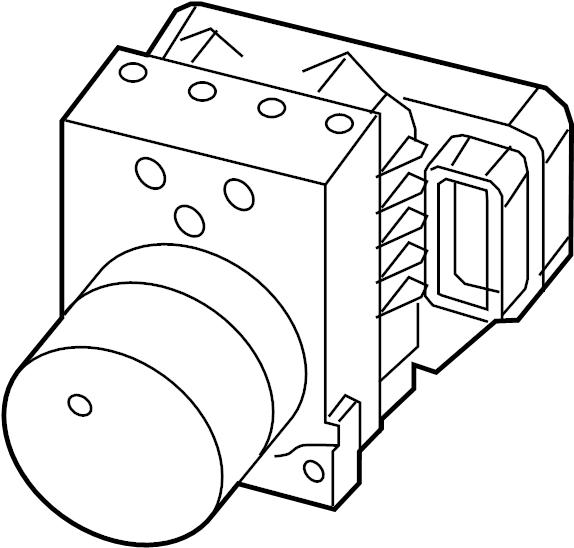 Mazda 6 Abs hydraulic assembly. Distance, sensor, unit