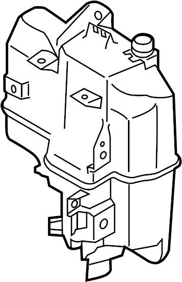 2014 Mazda CX-5 Washer Fluid Reservoir. Tank, Washer