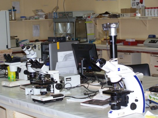 Lab-microscope