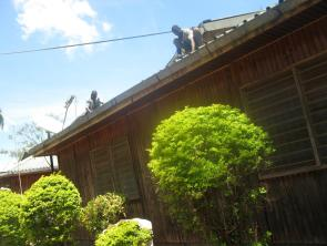 Repairs on the roof