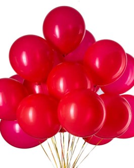 12 inch Red Balloons Latex Balloons Helium Balloons Quality Balloons Party Decorations Supplies Pack of 100,3.2g/pcs