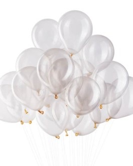 5 inch Clear Balloons Transparent Balloons Helium Balloons Quality Clear Latex Balloons Party Decorations Supplies Pack of 200