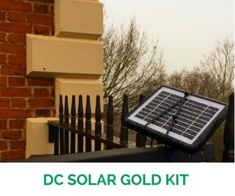100 W DC Solar Gold Kit