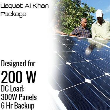 200 W DC Solar Solution