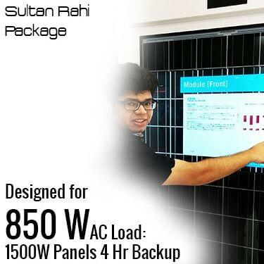 850 W AC Solar Solution