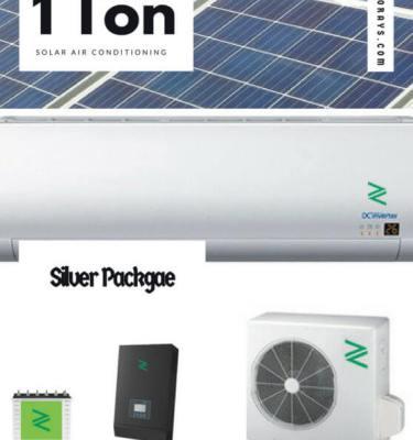 Silver Solar Air Conditioner