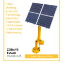 Zorays Solar Sun Tracked Pole