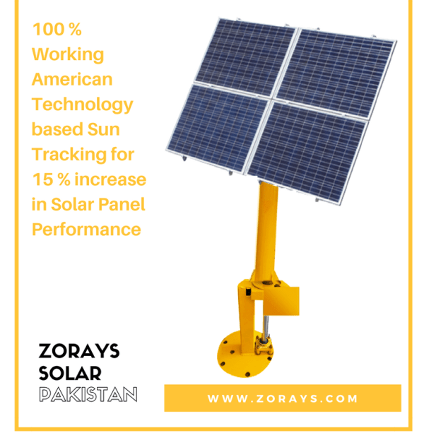 Zorays Solar Sun Tracked Pole