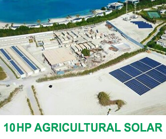 10 horse power solar agricultural solution