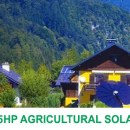 5.5 horse power solar agricultural solution