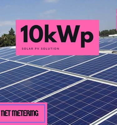 10kW-PV-Solar-Net-Metering-System