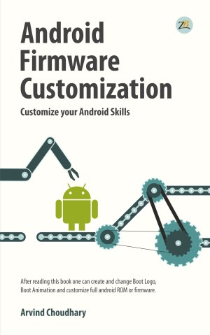 Android firmware customization_Cover Design_Front
