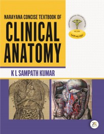 NARAYANA  CONCISE TEXTBOOK OF CLINICAL ANATOMY