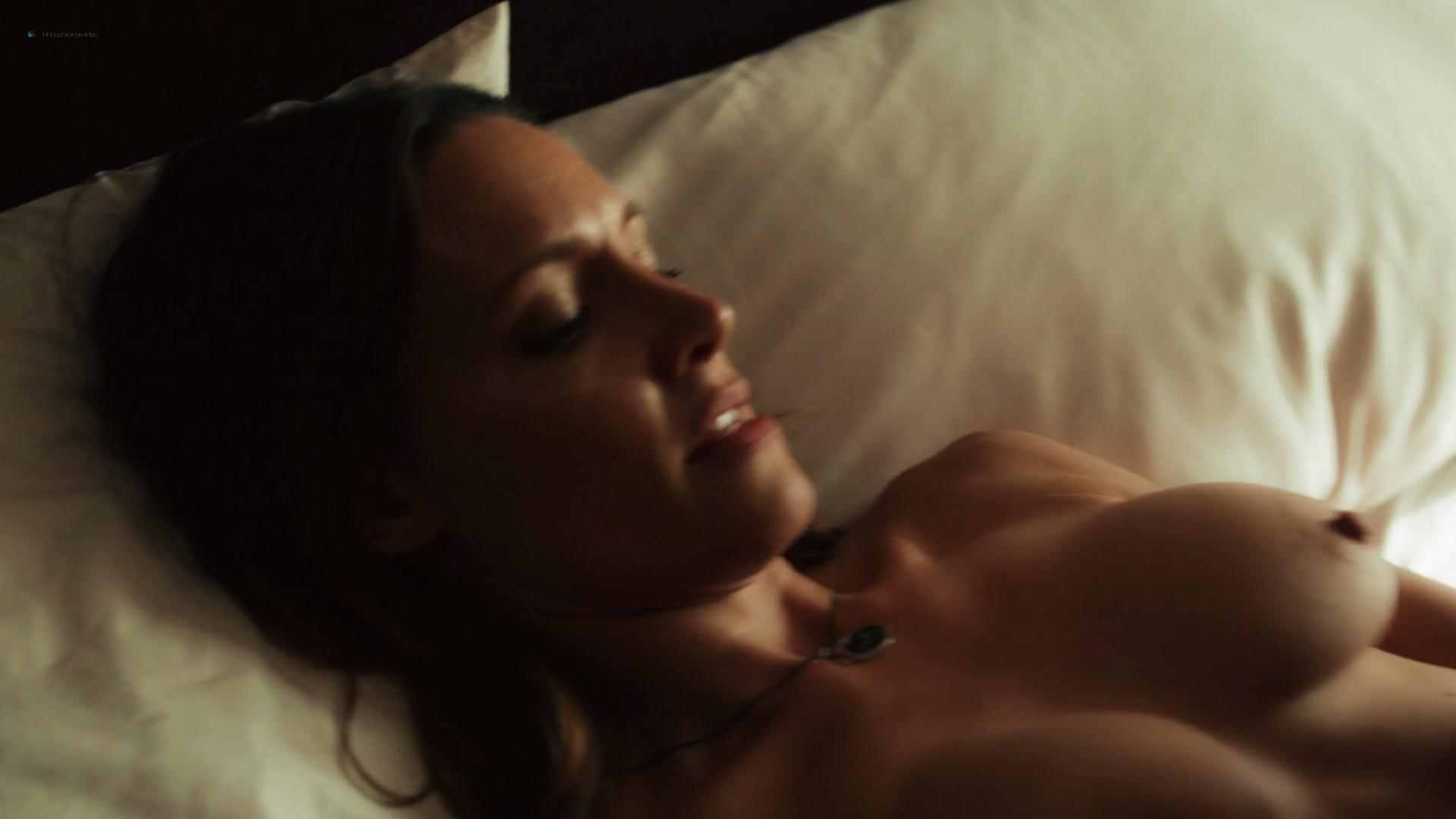 Emmanuelle Chriqui lesbian sex with KaDee Strickland nude topless - Shut Eye (2016) s1e1 1080p (4)