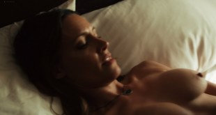 Emmanuelle Chriqui lesbian sex with KaDee Strickland nude topless - Shut Eye (2016) s1e1 1080p (4)