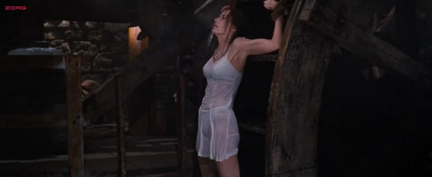 Geena Davis hot see through and wet - The Long Kiss Goodnight HD720p