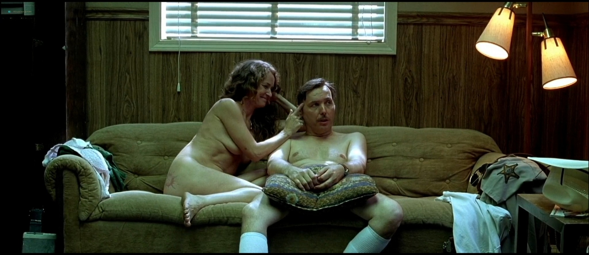 January Jones sex doggy style and Melissa Leo naked - The Three Burials of Melquiades Estrada HD 1080p BluRay (1)