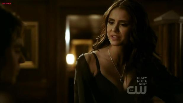 Nina Dobrev hot sexy cleavage - The Vampire Diaries S02E16 hd720p