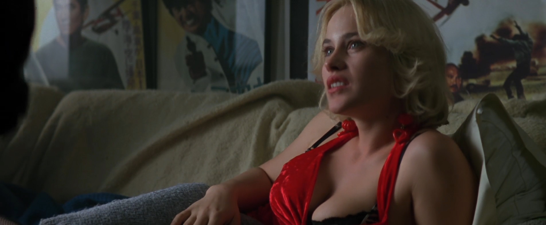 Patricia Arquette nude busty and sexy - True Romance (1993) hd1080p (3)