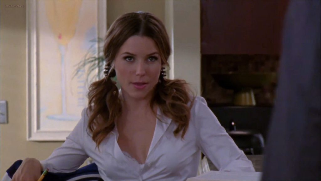 Sophia Bush hot sexy lingerie - One Tree Hill (2011) s08e15 HD 1080p (8)