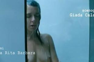 Valeria Golino nude topless shower and Antonia Liskova hot pole dancing – Giulia non esce la sera (2009)