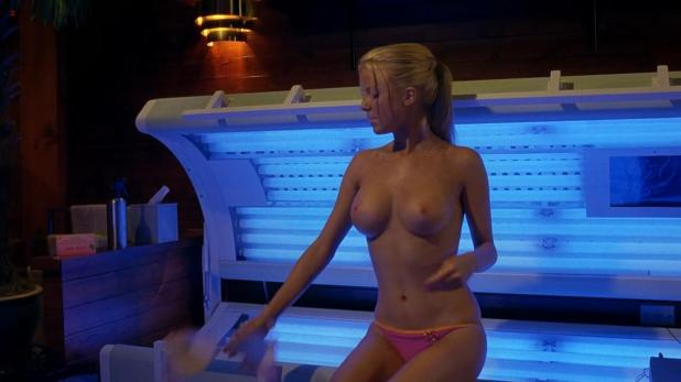Crystal Lowe and Chelan Simmons nude topless from Final Destination 3 hd720p