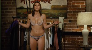 Jessica Biel hot sexy shaking butt and Adam Sandler groping her boobs - I Now Pronounce You Chuck & Larry (2007) hd1080
