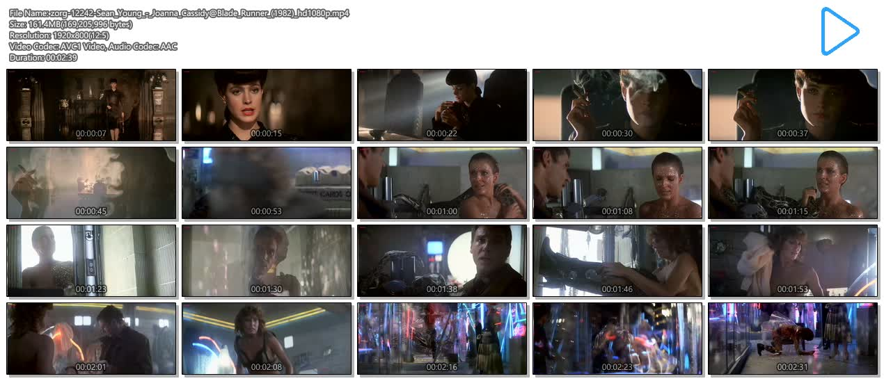 Joanna Cassidy nude topless and Sean Young hot and cute - Blade Runner (1982) hd1080p (9)