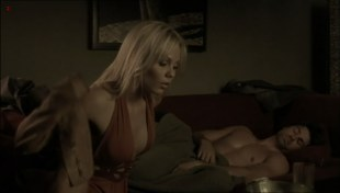 Laura Vandervoort hot cleavage - The Jazzman (2009)
