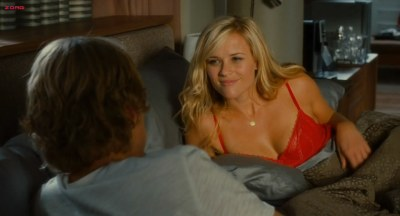 Reese Witherspoon hot in red lingerie in - How Do You Know (2010) hd720p