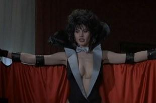 Geena Davis hot and huge cleavage - Transylvania 6-5000 (1985)