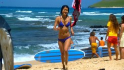 Grace Park hot and wet in bikini in - Hawaii Five-0 s01e22 hdtv720p