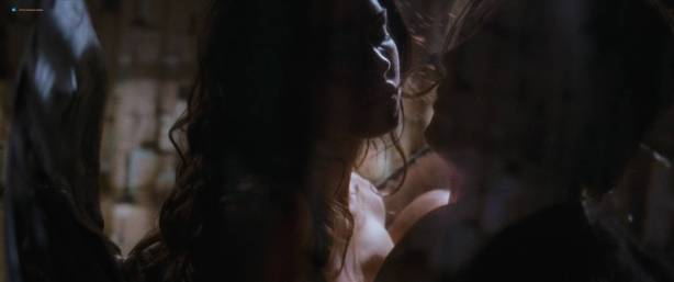 Megan Fox naked but covered and Alexandra Ruddy naked topless - Passion Play (2010) HD 1080p (13)