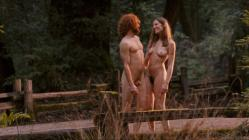 "Nicole Wilder full frontal naked walking with naked dude in the woods ""The Tripper"" (2006) hd720p"