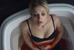 Rosamund Pike hot sex in the car doggy style and Emily Meade nude brief topless- Burning Palms (2010) hd720p