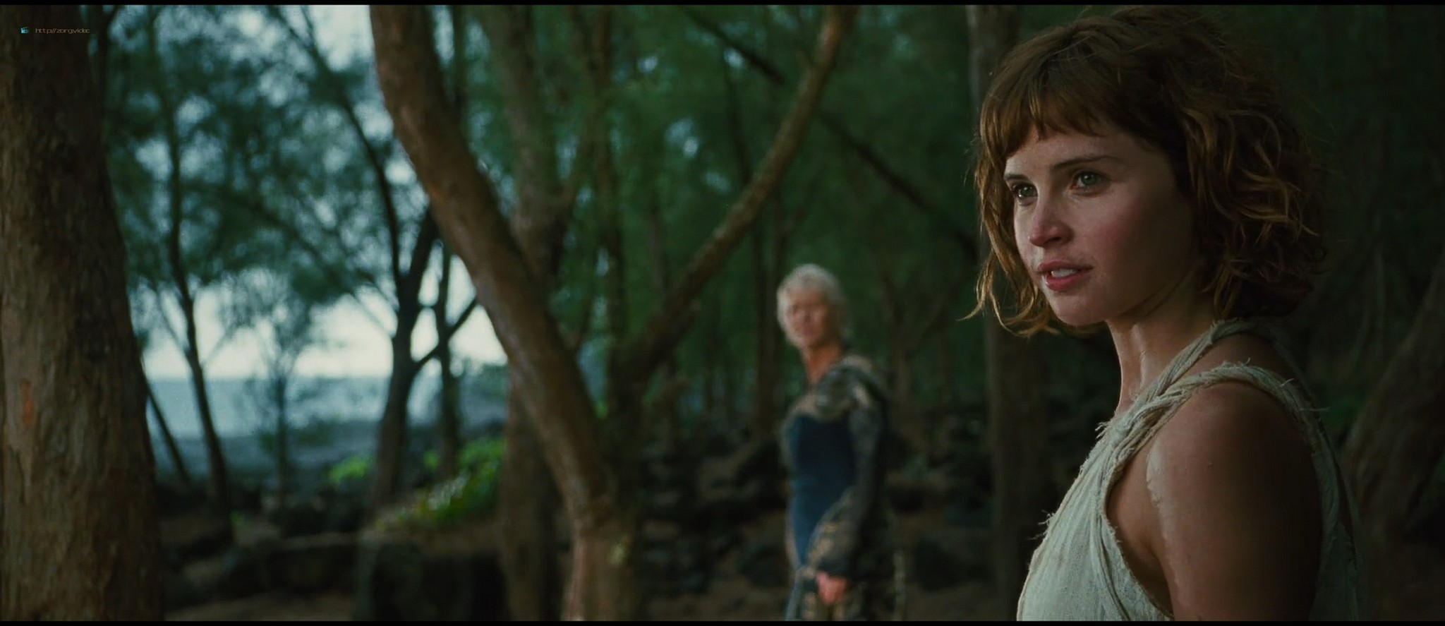Felicity Jones hot and sexy - The Tempest (2010) HD 1080p BluRay (7)