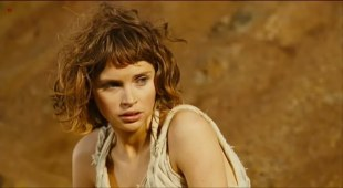 Felicity Jones hot and sexy see through - The Tempest (2010)