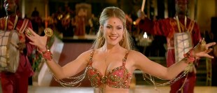 Laura Ramsey hot and sexy as belly dancer - Whatever Lola Wants (2007)