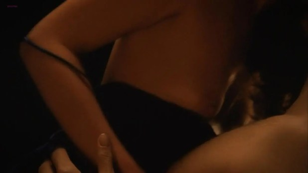 Courtney Ford nude sex and nipple slip - True Blood s4e3