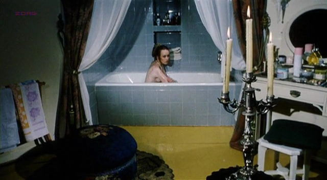 Camille Keaton nude topless in vintage movie - Tragic Ceremony (1972)