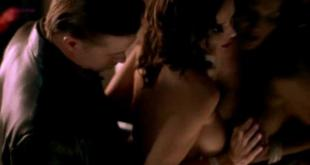 Kristy Swanson not nude but hot in lingerie and lesbian sex Brandy Ledford nude and lesbian sex in - Zebra Lounge (2001)